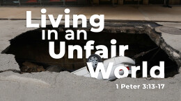 Living in an Unfair World